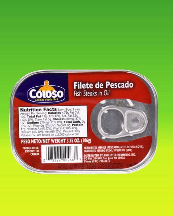 Deliciosas recetas confeccionadas con filete de pescado Coloso. La mejor calidad, a un precio a tu alcance. - Filete de Pescado en Aceite Coloso