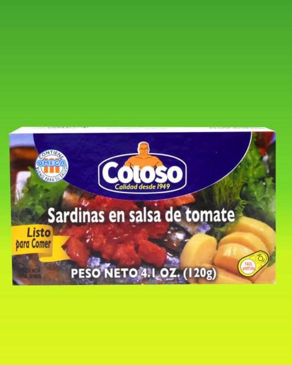 Deliciosas recetas confeccionadas con sardinas Coloso. La mejor calidad, a un precio a tu alcance. - Sardinas en Salsa de Tomate Coloso