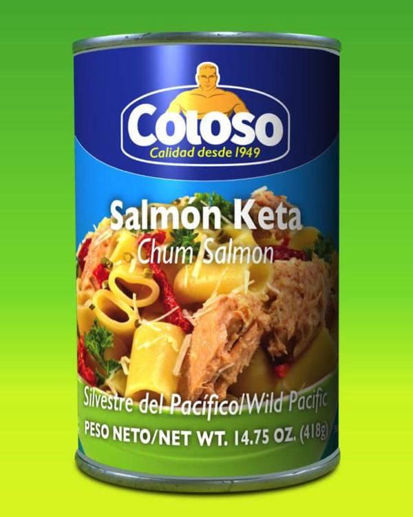 Deliciosas recetas confeccionadas con pastas Coloso. La mejor calidad, a un precio a tu alcance. - Salmón Keta Coloso