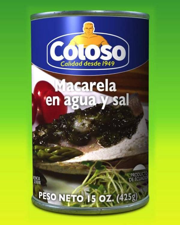 Deliciosas recetas confeccionadas con macarela Coloso. La mejor calidad, a un precio a tu alcance. - Macarela Coloso