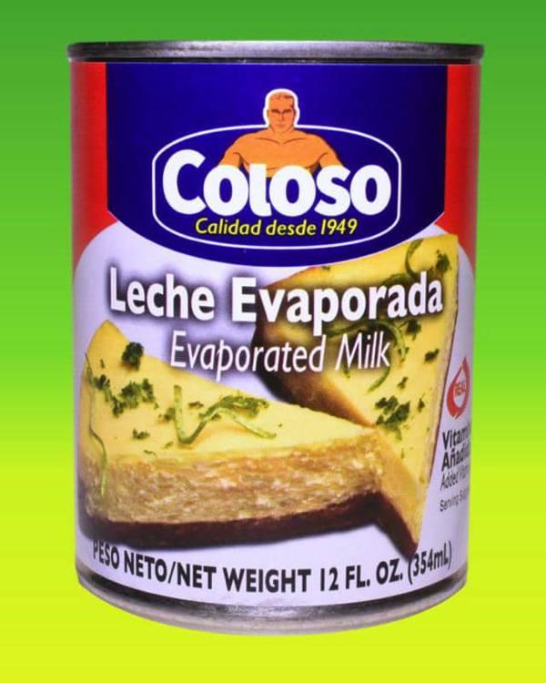 Deliciosas recetas confeccionadas con coco Coloso. La mejor calidad, a un precio a tu alcance. - Leche Evaporada