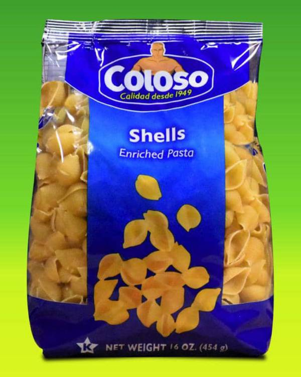 Deliciosas recetas confeccionadas con pastas Coloso. La mejor calidad, a un precio a tu alcance. - Caracoles Coloso (Bolsa)
