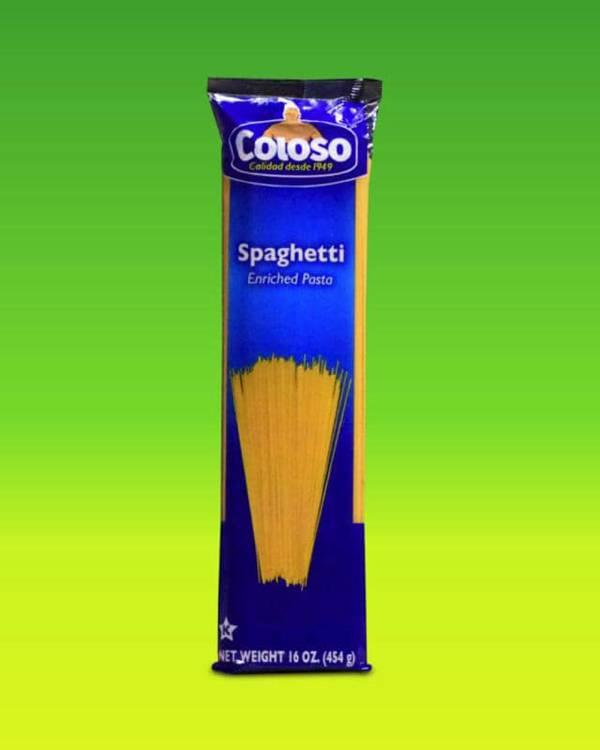Deliciosas recetas confeccionadas con pastas Coloso. La mejor calidad, a un precio a tu alcance. - Espagueti Coloso (Bolsa)