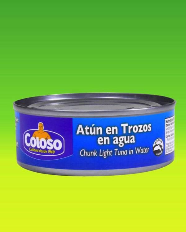Deliciosas recetas confeccionadas con atún Coloso. La mejor calidad, a un precio a tu alcance. - Atún (Chunk Light) en Trozos y en Agua