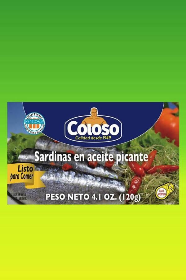 Deliciosas recetas confeccionadas con sardinas Coloso. La mejor calidad, a un precio a tu alcance. - Sardinas en aceite picante
