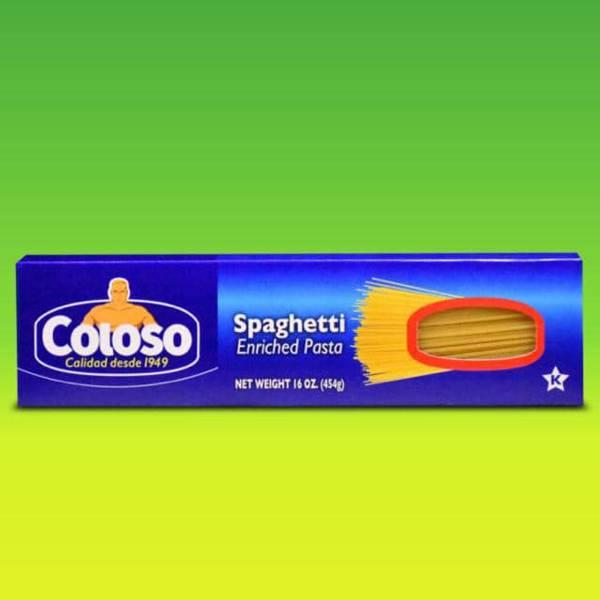 Deliciosas recetas confeccionadas con pastas Coloso. La mejor calidad, a un precio a tu alcance. - Espagueti Coloso