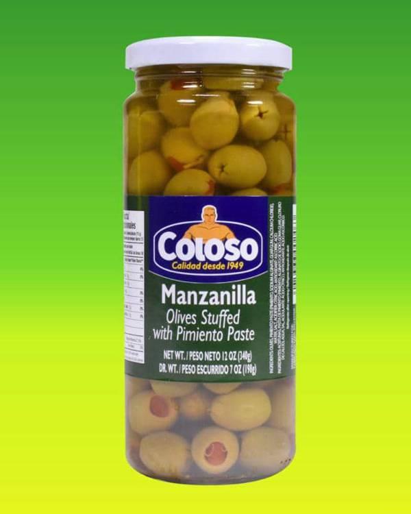 Deliciosas recetas confeccionadas con pollo Coloso. La mejor calidad, a un precio a tu alcance. - Aceitunas Manzanillas