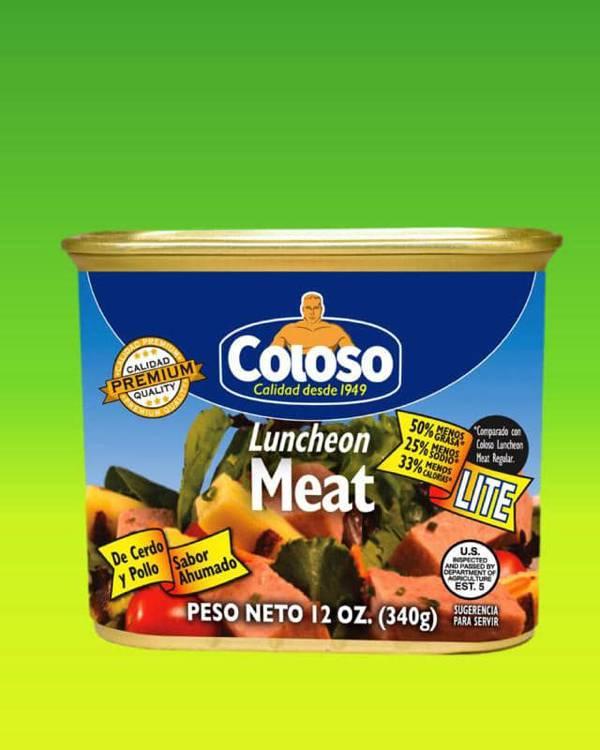 Deliciosas recetas confeccionadas con luncheon meat Coloso. La mejor calidad, a un precio a tu alcance. - Luncheon Meat Lite